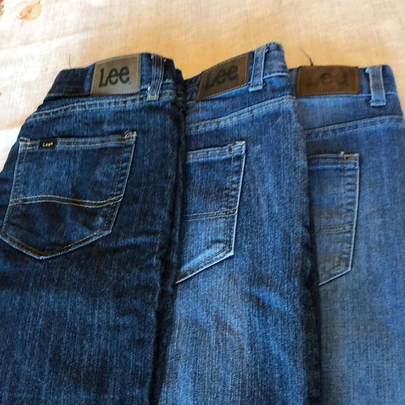 Lee Other - Boys jeans size 18/20 Lee three pair